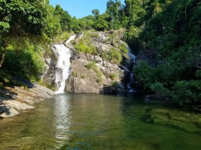 Waterfall – Swimming lakes